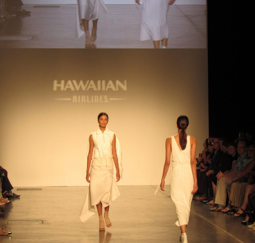 Dion Lee at Honolulu Fashion Week